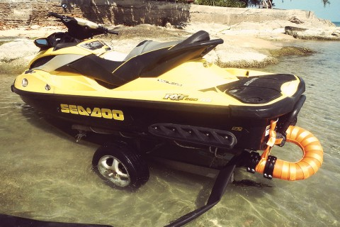 full jet ski modification