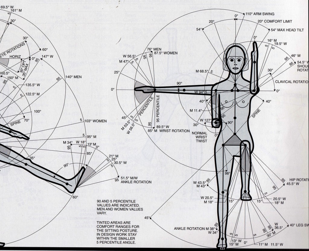 human measure scan plantar flexion